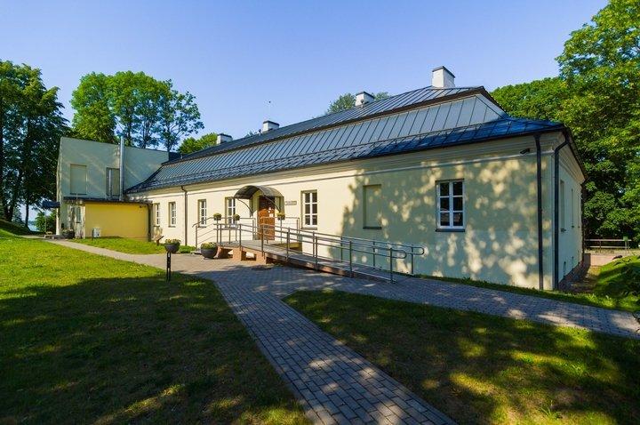 Besucherzentrum des Regionalparks Veisiejai