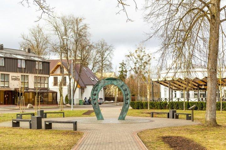 Skulptūra Svetingumo vartai