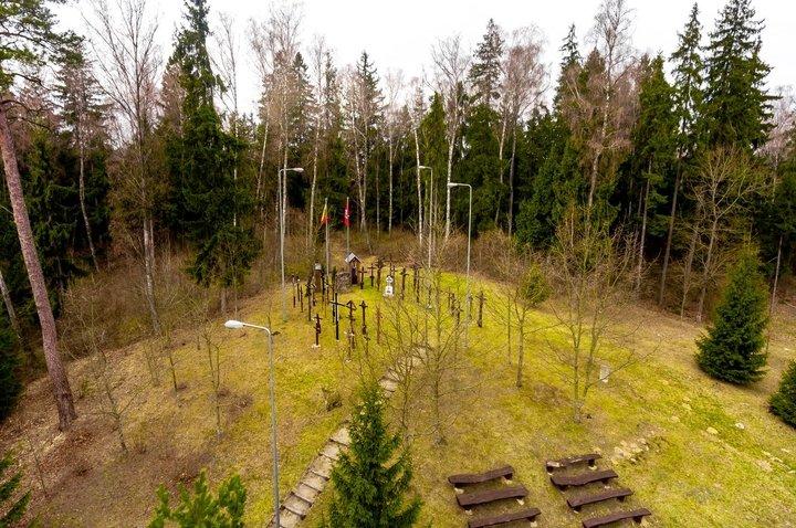 Ort des Gefechts von Kalniškė