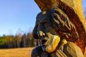 Kompleks rzeźb drewnianych we wsi Szandubra (lit. Švendubrė)